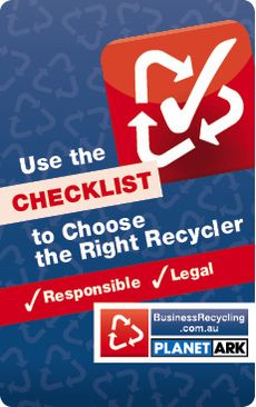 Business Recycling Checklist © Jess McCallum