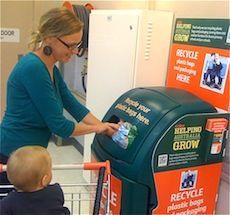 Soft Plastic Recycling at Coles