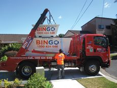 Bingo skip bins photo