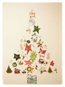 Christmas card tree © Zo Zhou