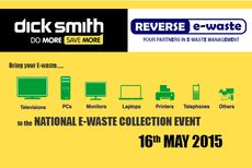 Reverse e-waste Dick Smith Event © Planet Ark