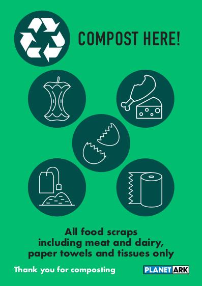 Compost all food scraps