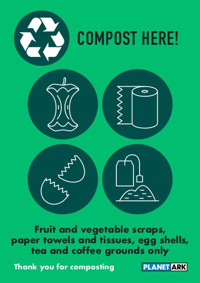 Compost fruit and veg scraps