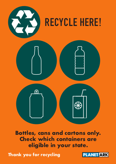 Container deposit recycling