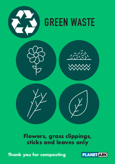 Green waste only