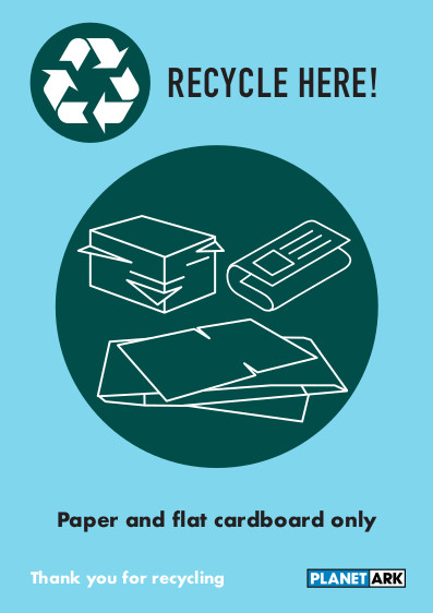 Paper & cardboard no cartons