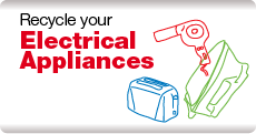 recycle an electrical appliance